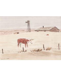 SOLD Leonard Reedy (1899-1956) - Desolation