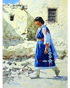 SOLD Ross Stefan (1934-1999) - Hopi Maiden