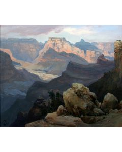 SOLD Ralph Love (1907-1992) - Gran Canyon Watens Throne