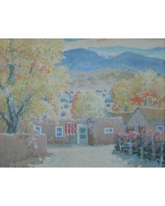 SOLD Carl Von Hassler (1887-1969) - Autumn in the Penasco Valley