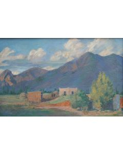 SOLD Ralph Goltry (1884-1971) - Adobe Home