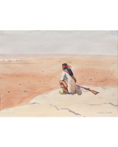 SOLD Leoard Reedy (1899-1956) - Chiricahua Apache