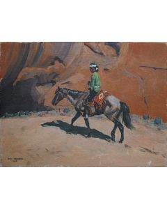 SOLD Don Perceval (1908-1979) - Navajo Rider