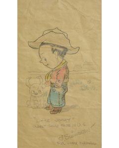 SOLD James Swinnerton (1875-1974) - Little Jimmy Illustration
