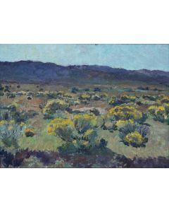 SOLD Charles Berninghaus (1905-1988) - Chamisa Mountain Scene