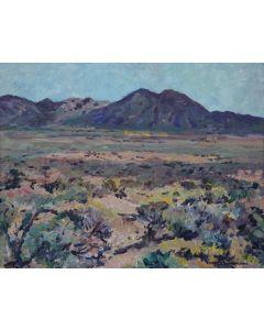 SOLD Charles Berninghaus (1905-1988) - Sage Near Taos