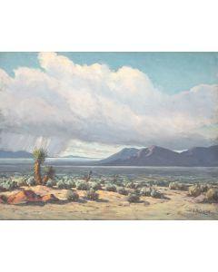 Lavaun B. Curtis (1905-1990) - Stormy Vista