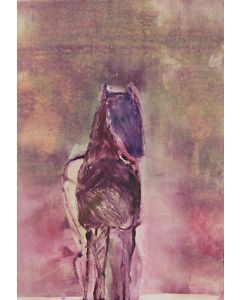 SOLD Fritz Scholder (1937-2005) - Dream Horse 2