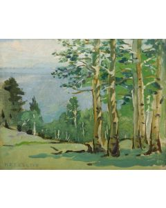 SOLD Mary-Russell Ferrell Colton (1889-1971) - Quaking Aspens
