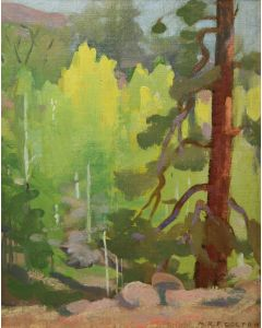 SOLD Mary-Russell Ferrell Colton (1889-1971) - Towering Pine