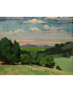 SOLD Mary-Russell Ferrell Colton (1889-1971) - Valley by Little Colorado