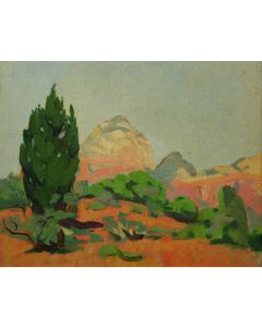 SOLD Mary-Russell Ferrell Colton (1889-1971) - Capital Butte Gray Back Mt.