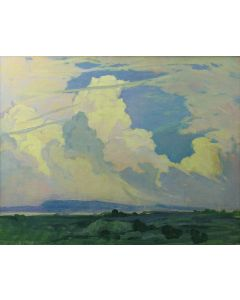 SOLD Mary-Russell Ferrell Colton (1889-1971) - Building Clouds