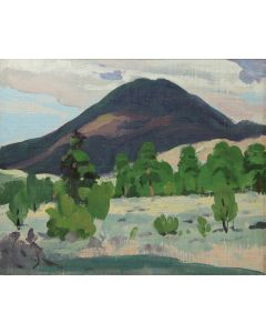 SOLD Mary-Russell Ferrell Colton (1889-1971) - Sunset Crater, Study