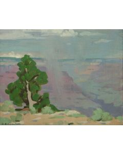 SOLD Mary-Russell Ferrell Colton (1889-1971) - Grand Canyon, Study (Quite Mood)