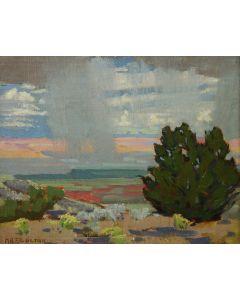 SOLD Mary-Russell Ferrell Colton (1889-1971) - Little Desert Rain, Study