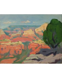 SOLD Mary-Russell Ferrell Colton (1889-1971) - Grand Canyon Study