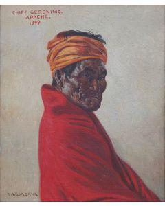 SOLD E. A. Burbank (1858-1949) - Chief Geronimo, Apache, 1899