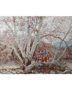 Ross Stefan (1934-1999) - Among the Sycamores - Ash Creek, Southern Arizona