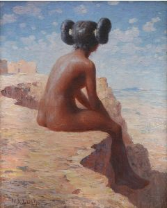 SOLD W. R. Leigh (1866-1957) - Hopi Maiden
