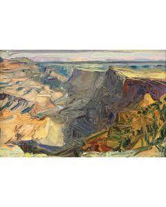 SOLD Louisa McElwain (1953-2013) - Desert, View Morning