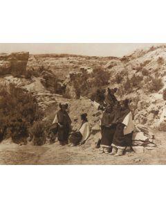 Edward S. Curtis (1868-1952) - East Mesa Girls (PDC1492)