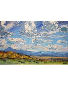SOLD Louisa McElwain (1953-2013) - Ghost Ranch View