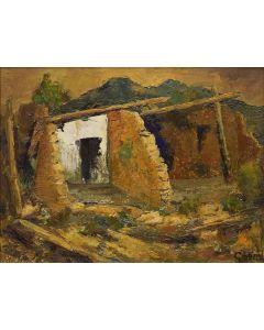 Eric Gibberd (1897-1972) - Adobe Walls (PDC1571)