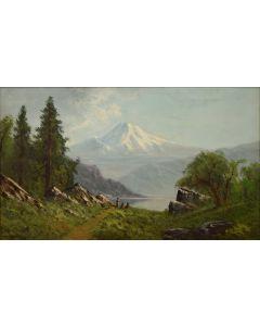 Lot 230 - William Weaver Armstrong (1862-1906) - Oregon Landscape (PDC1614)