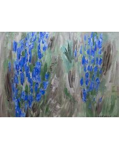 SOLD John Ward Lockwood (1894-1963) - New Mexico Flowers