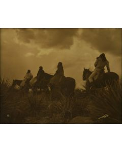 Edward S. Curtis (1868-1952) - Before the Storm