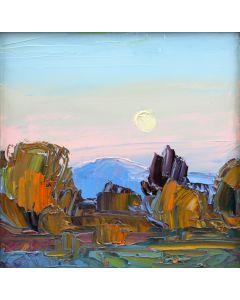 Louisa McElwain (1953-2013) - Moonset