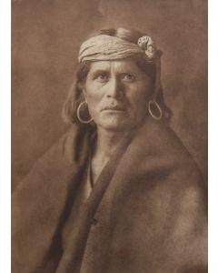 Edward S. Curtis (1868-1952) - A Walpi Man