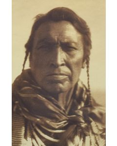 Edward S. Curtis (1868-1952) - Hairy Moccasins - Apsaroke