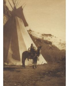 Edward S. Curtis (1868-1952) - A Young Horsewoman