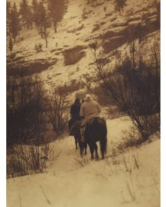 Edward S. Curtis (1868-1952) - Winter Hunters