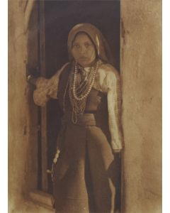 Edward S. Curtis (1868-1952) - An Isleta Girl