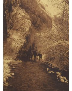 Edward S. Curtis (1868-1952) - Approaching Winter