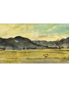 Peter Hurd (1904-1984) - Desert Landscape