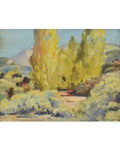 Gerald Cassidy (1879-1934) - Southwest Landscape