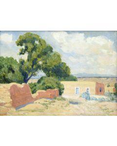 Sheldon Parsons (1866-1943) - The Blue Door