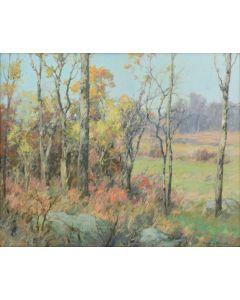 Maurice Braun (1877-1941) - Autumn Landscape