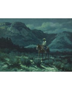 Ross Stefan (1934-1999) - Late for Home
