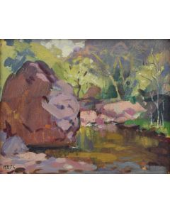 Lot 226 - Mary-Russell Ferrell Colton (1889-1971) - Oak Creek Canyon (PDC1767)