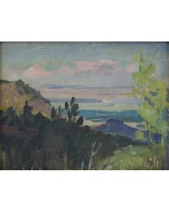 SOLD Mary-Russell Ferrell Colton (1889-1971) - Overlook Flagstaff