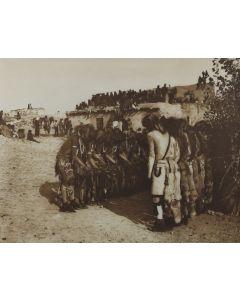 Edward S. Curtis (1868-1952) - Antelopes and Snakes at Oraibi