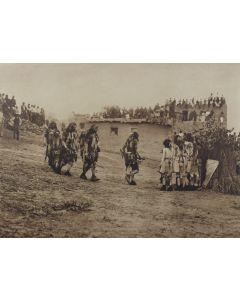 Edward S. Curtis (1868-1952) - Snake Dancers Entering the Plaza