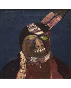 Fritz Scholder (1937-2005) - Dark Indian #2