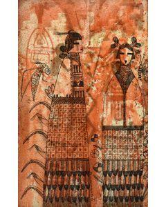 Terrance Talaswaima, Honvantewa (1939-1988), Hopi - Corn Mana Kachinas (PDC1809)