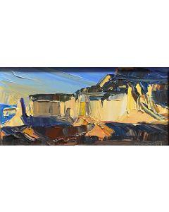 SOLD Louisa McElwain (1953-2013) - Ghost Ranch, Sundown (PDC1815)